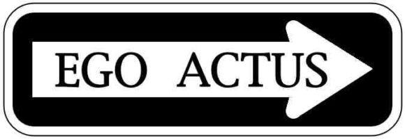 Ego Actus